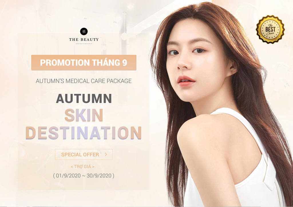 PROMOTION THÁNG 9 – Autumn's Medical Care Package